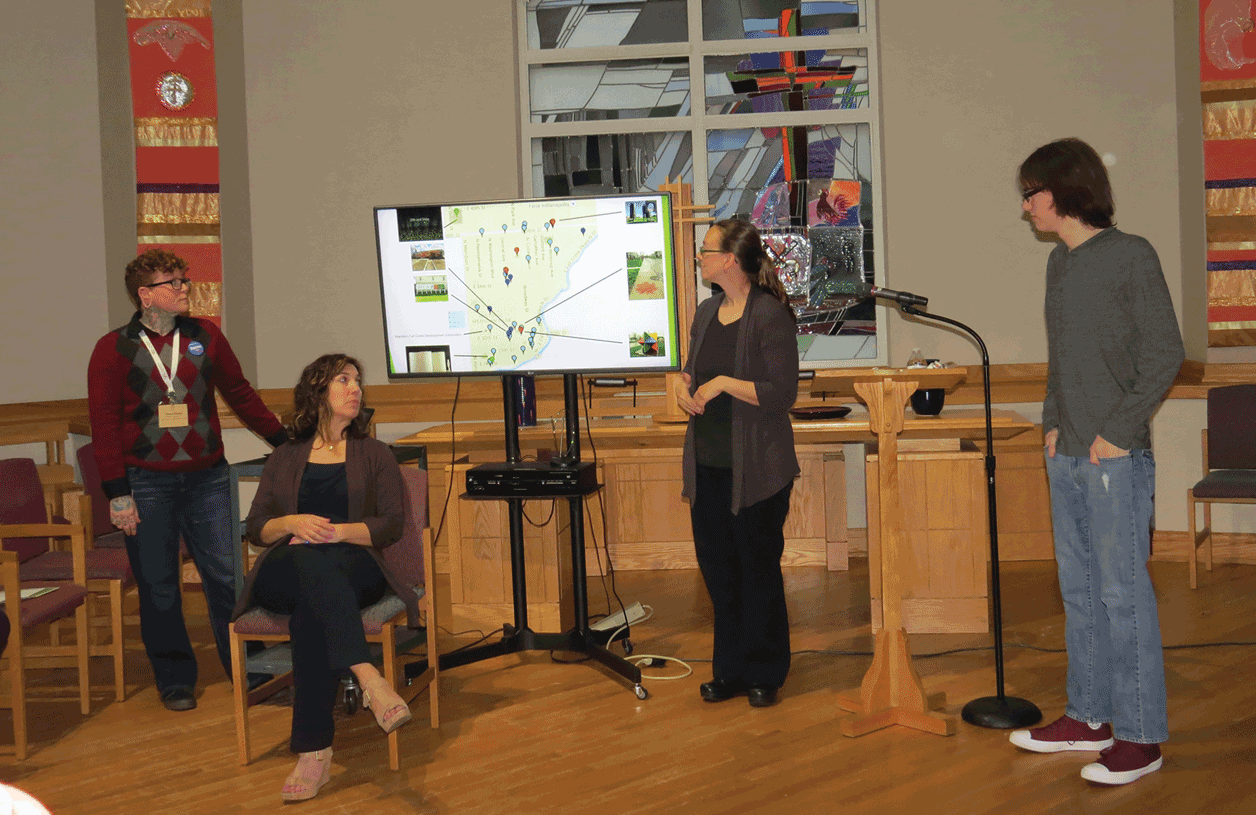 Mapleton-Fall Creek Mapping Project