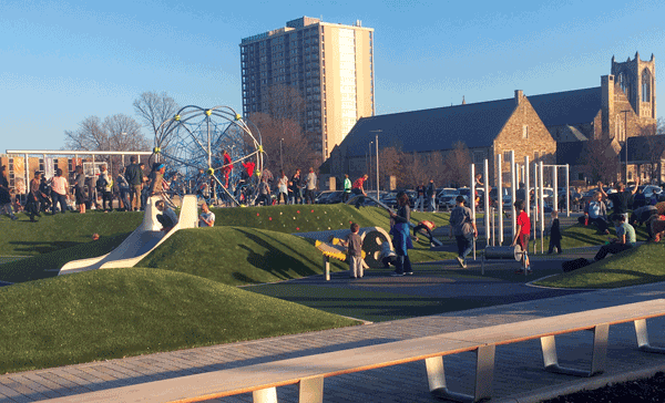 Tarkington Park: 'Unlike any other in the city'