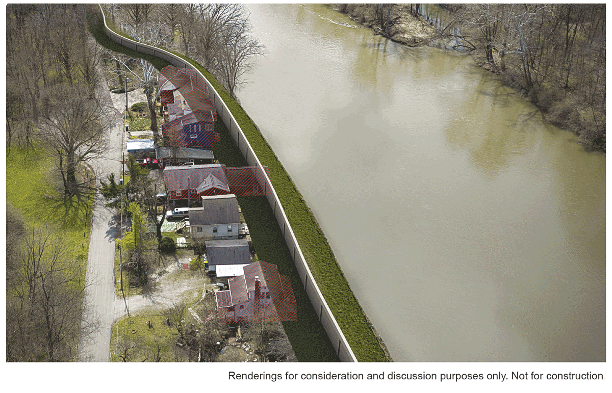Flood Protection Options for Rocky Ripple