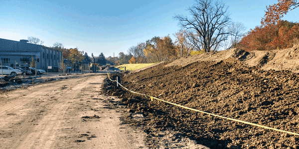 'Full Speed Ahead' on Levee Project