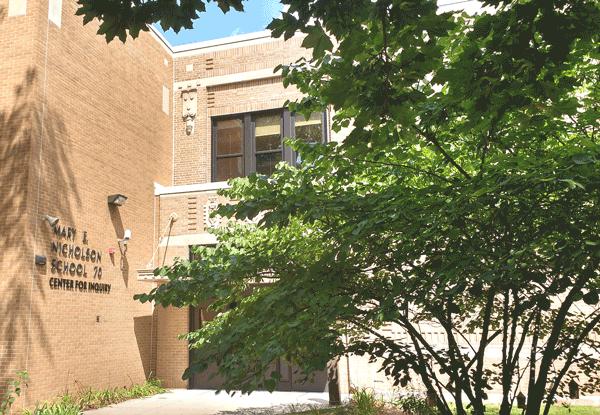 LOCAL SCHOOL, GLOBAL VIEW: Mary E. Nicholson CFI School 70