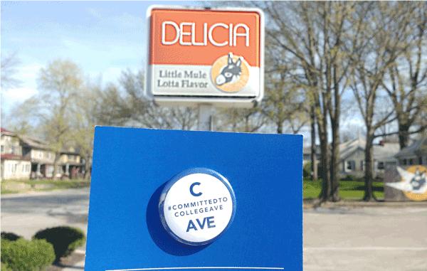 College Ave. Business Snapshot - La Mulita, Delicia