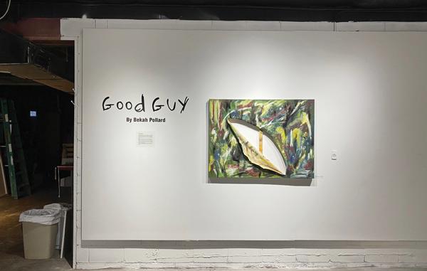 Exhibit opening panel