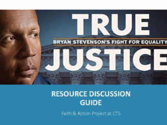 True Justice discussion guide promo