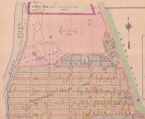1908 Armstrong Park map