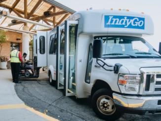 IndyGo paratransit bus