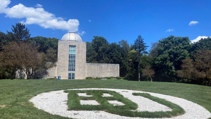 Exterior shot of Holcomb Observatory
